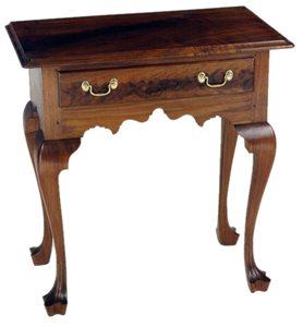 L W Crossan Cabinetmaker Philadelphia Queen Anne